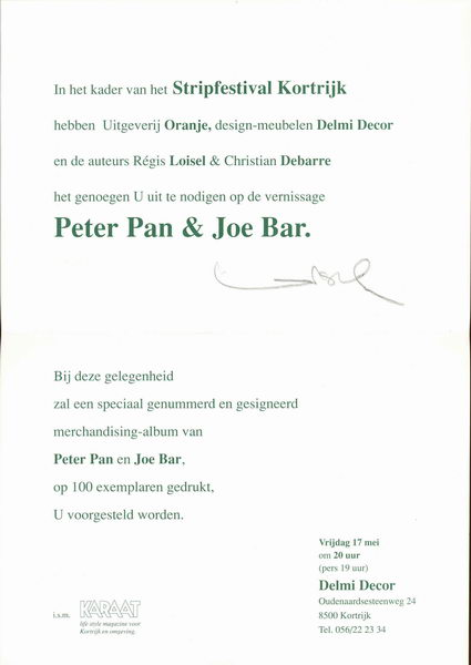 Peter Pan & Joe Bar