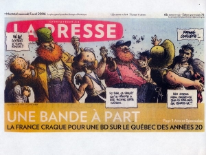 LA PRESSE MERCREDI 5 AVRIL 2006