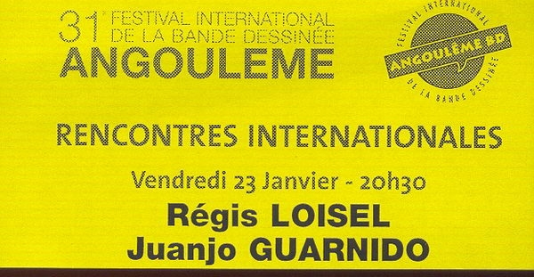 TICKET ENTREE RENCONTRES LOISEL-GUARNIDO