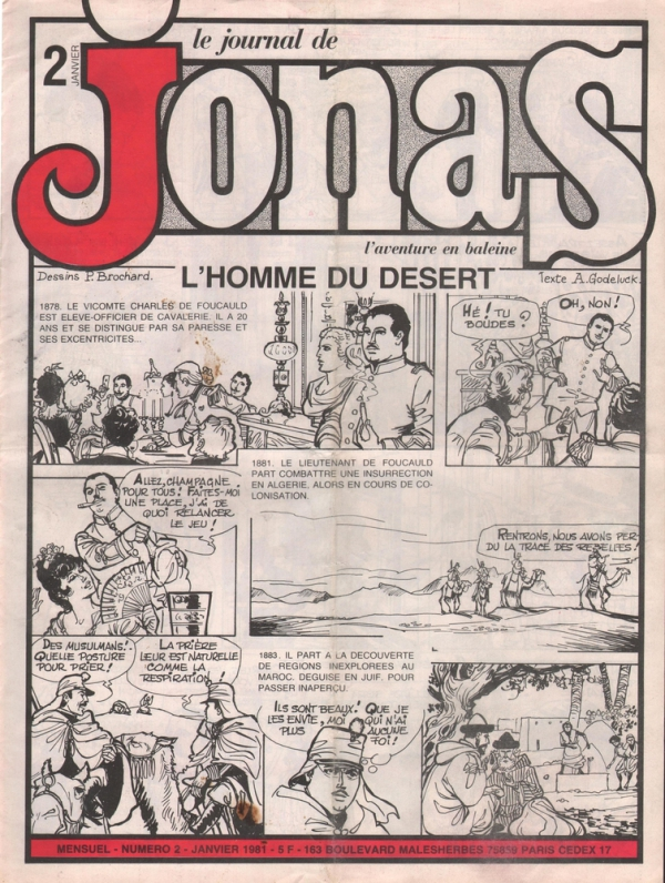 LE JOURNAL DE JONAS N°2