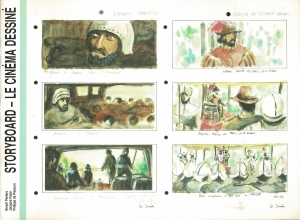 STORYBOARD - LE CINEMA DESSINE