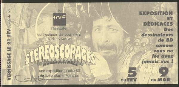 EXPO STEREOSCOPAGES A MONTPELLIER